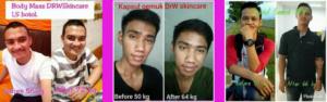 Testimoni Obat Gemuk Drw Skincare